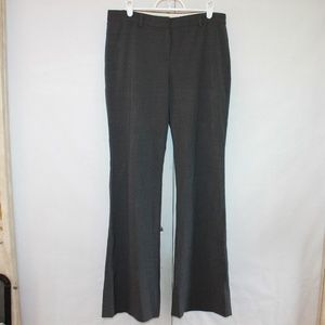 Theory Women's Size 6 Gray Wool Blend Dress Pants